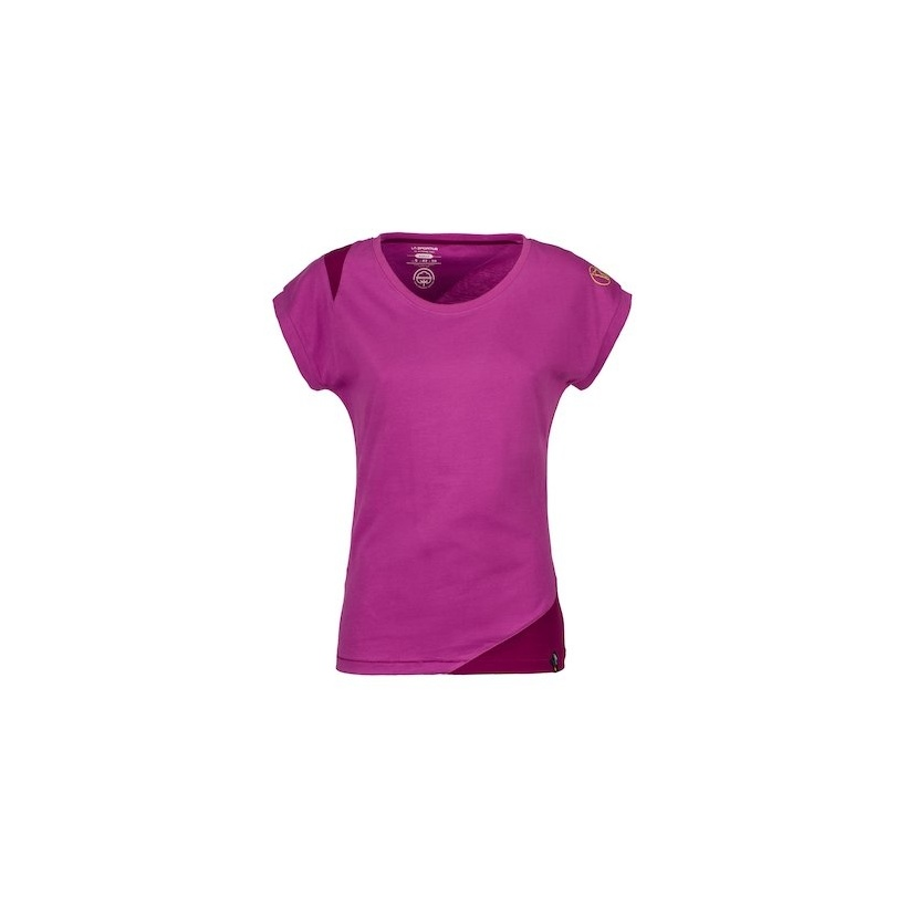 TSHIRT CHIMNEY W PURPLE PLUM
