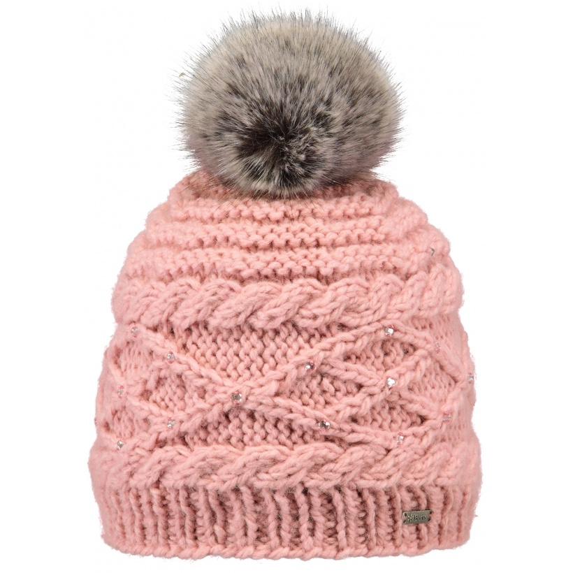 CLAIRE BEANIE PINK